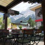 Restaurant Mooswirt Ehrwald Terrasse Aussicht